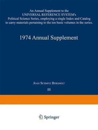 1974 Annual Supplement