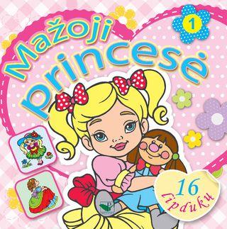 Mažoji princesė 1 + 16 lipdukų!