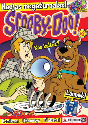 Scooby-Doo Megažurnalas (Nr. 2)