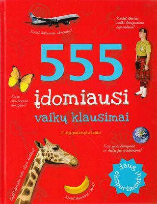 555 įdomiausi vaikų klausimai