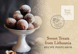 "The collection of postcards ""Sweet Treats From Lithuania"" - a culinary book in your pocket!"