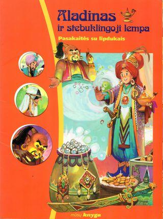 Aladinas ir stebuklingoji lempa. Pasakaitės su lipdukais