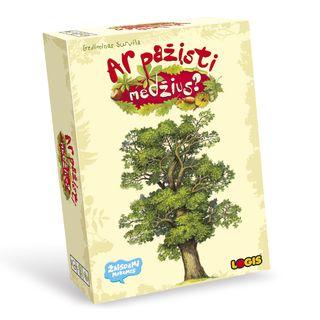 Ar pažįsti medžius? Žaidimas - dėlionė