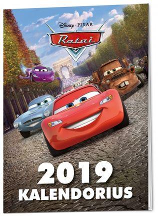 Ratai. Kalendorius 2019 + žaisliukas Bruolis-Drakula