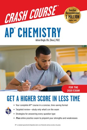 AP® Chemistry Crash Course, For the 2020 Exam, Book + Online