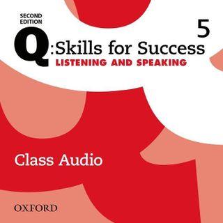Q: Skills for Success: Level 5. Listening & Speaking Class Audio CD