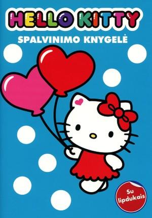 Hello Kitty: spalvinimo knyga