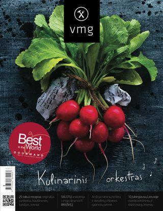Pripažintas geriausiu pasaulyje kulinariniu žurnalu! Virtuvės mitų griovėjai. Kulinarinis orkestras. Pavasario numeris
