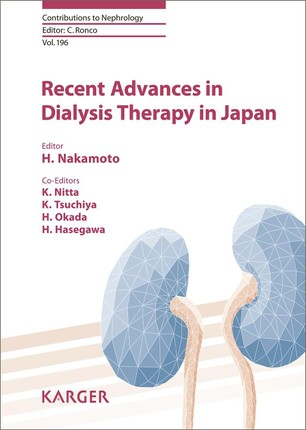 Recent Advances in Dialysis Therapy in Japan