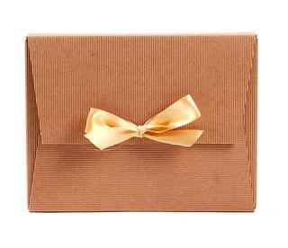 Dėžutė knygoms (ruda, 18 x 24 x 4 cm)