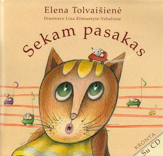 Sekam pasakas (su CD)