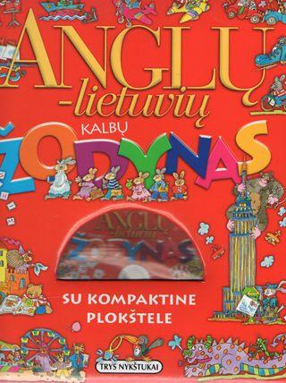 Anglų - Lietuvių kalbų žodynas su kompaktine plokštele