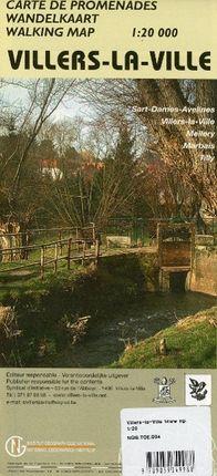 Villers-la-Ville  1 : 20 000