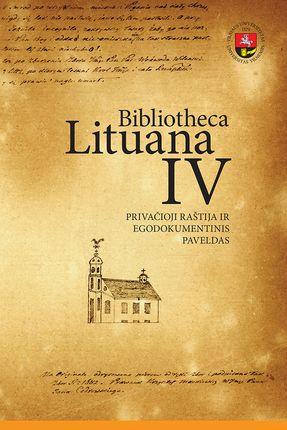 Bibliotheca Lituana IV