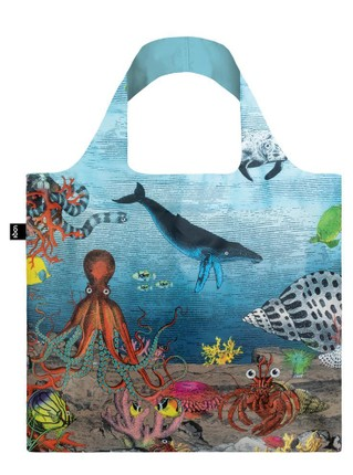 "LOQI pirkinių krepšys ""KRISTJANA S WILLIAMS INTERIORS Great Barrier Reef Bag"""
