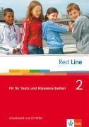 Red Line 2. Fit für Tests und Klassenarbeiten mit CD-ROM