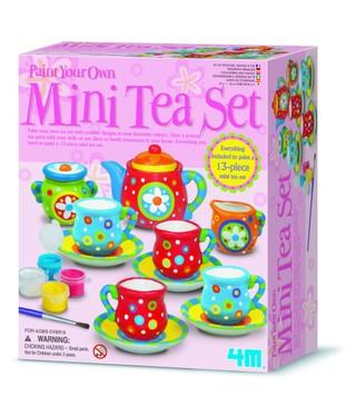 """4M Rinkinys """"Nudažyk arbatos servizą"""""""