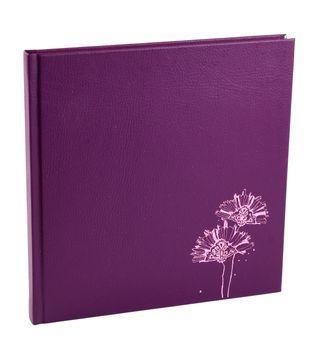 Užrašinė ZOOMBOOK su meno terapijos piešiniais (tamsiai violetinė). Stilingo dizaino užrašų knyga kietais viršeliais + 54 įspūdingos iliustracijos