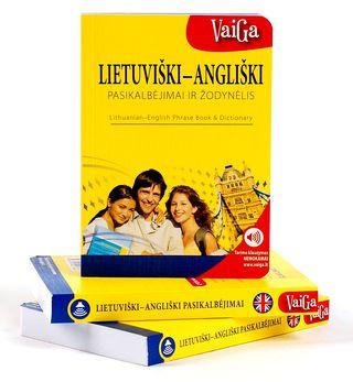 Lietuviški-angliški pasikalbėjimai ir žodynėlis