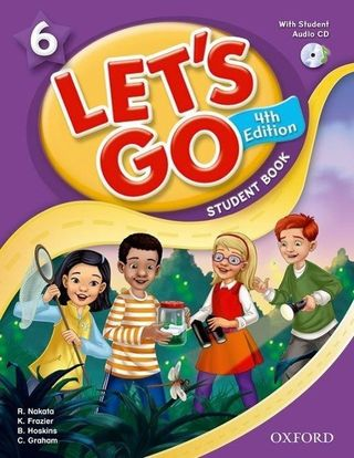 Let's Go 6: Student Book with Audio CD Pack