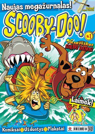 Scooby-Doo Megažurnalas (Nr. 1)