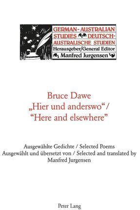 'Hier und anderswo'. 'Here and elsewhere'