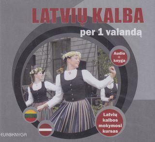Latvių kalba per 1 valandą. Audio ir knyga