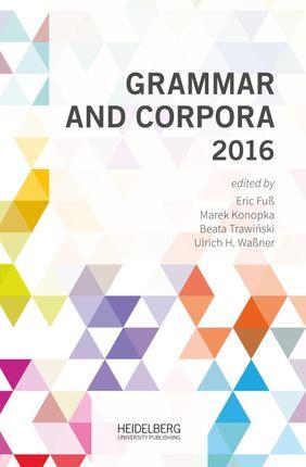 Grammar and Corpora 2016
