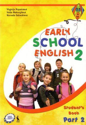 Early school english 2. Anglų kalba 3 kl. 2-oji knyga 2 d. (ankstyvasis ugdymas)