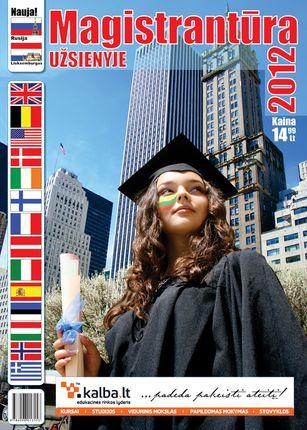 Magistrantūra užsienyje 2012