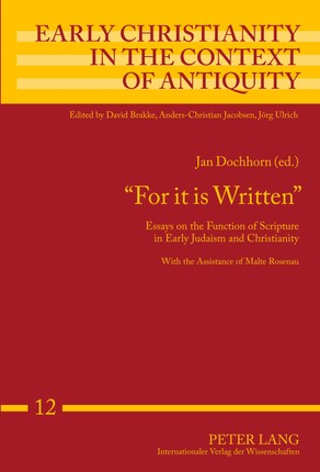 'For it is Written'