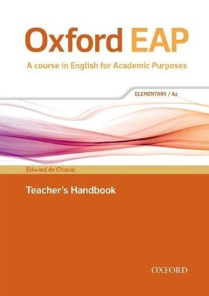 Oxford EAP: Elementary A2. Teacher's Book, DVD and Audio CD Pack