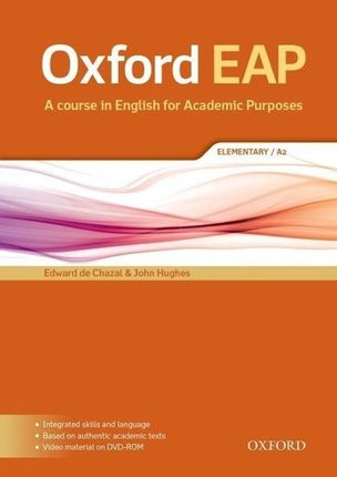 Oxford EAP: Elementary A2. Student's Book and DVD-ROM Pack