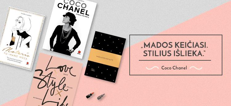 Stilingos dovanos su Coco Chanel citatomis