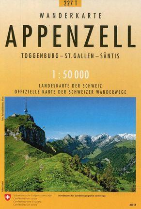 Swisstopo 1 : 50 000 Appenzell