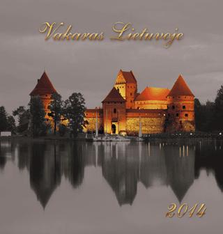 """2014 metų kalendorius """"Vakaras Lietuvoje"""""""