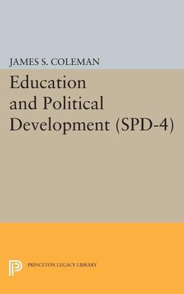 Education and Political Development. (SPD-4)