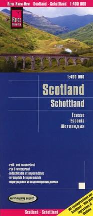 Reise Know-How Landkarte Schottland 1 : 4 00 000