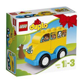 10851 LEGO® DUPLO® Creative Play Mano pirmasis autobusas