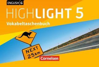 English G Highlight Band 5: 9. Schuljahr- Hauptschule - Vokabeltaschenbuch