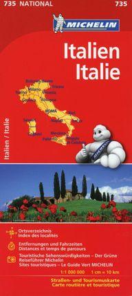 Michelin Italien 1 : 1 000 000