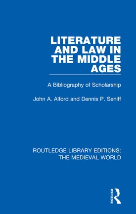 Literature and Law in the Middle Ages