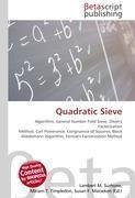 Quadratic Sieve