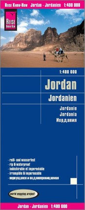 Reise Know-How Landkarte Jordanien / Jordan 1:400.000