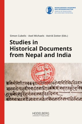 Studies in Historical Documents from Nepal and India