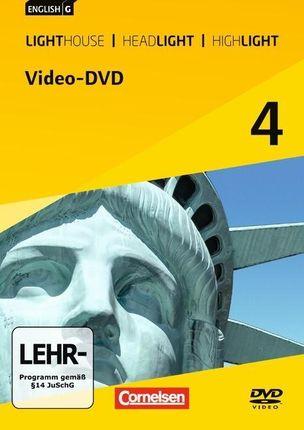 English G Lighthouse / English G Headlight / English G Highlight 04: 8. Schuljahr. Video-DVD