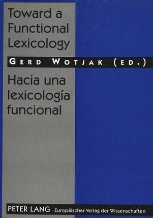 Toward a Functional Lexicology