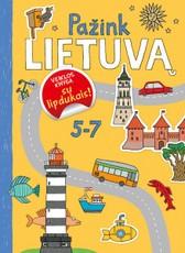 Pažink Lietuvą: veiklos knyga su lipdukais!