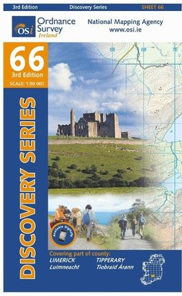 Irish Discovery Series 66. Limerick, Tipperary 1 : 50 000