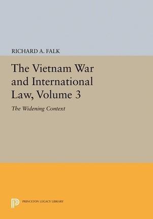 Vietnam War and International Law, Volume 3